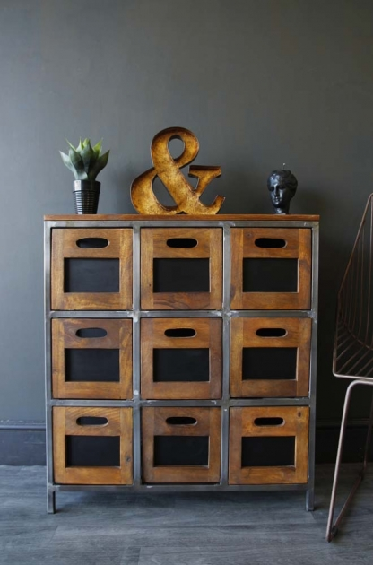 Hudson 9 Drawer Wooden Storage Chest Of Drawers