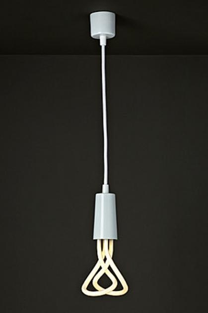 Plumen Flex and Fitting Pendant Set (Bulb Not Included) - White