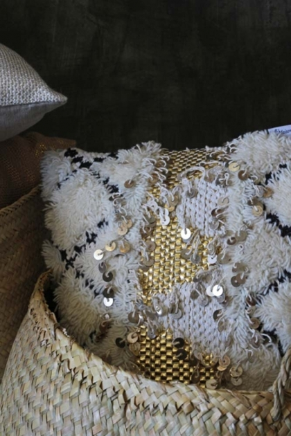 Gold benni cushion - Rockett St George