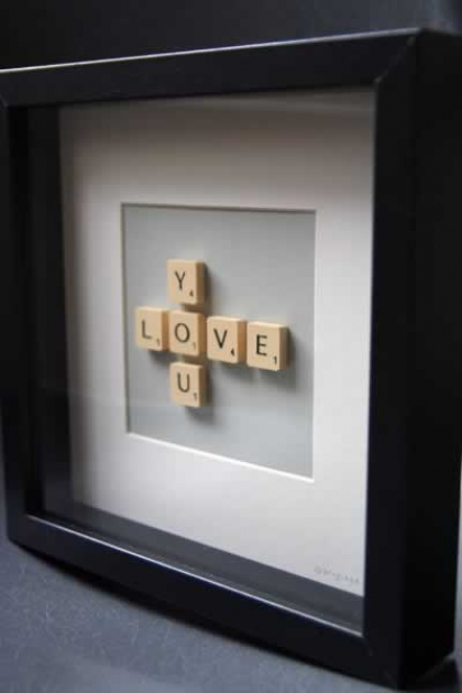 Brigitte Herrod Scrabble Picture - LOVE YOU
