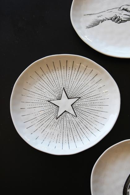 Handmade Ceramic Plate - Star