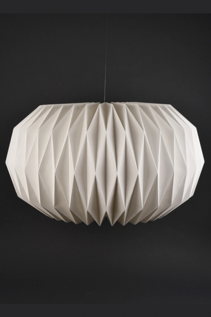 Sphere Pleated Lamp Shade
