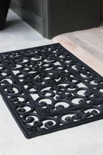 Decorative Filigran Doormat - Small