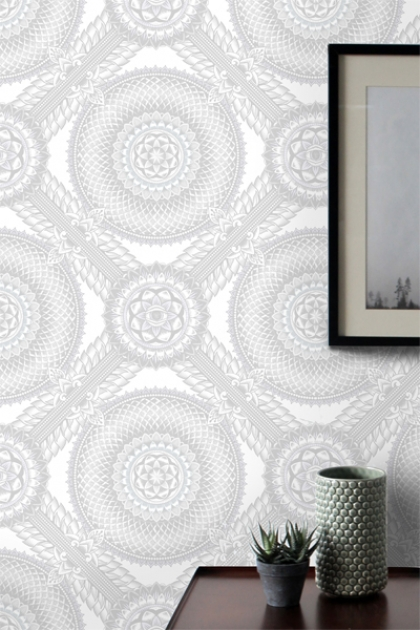 Kelsey Proud Diamond Wallpaper - 4 Colours Available