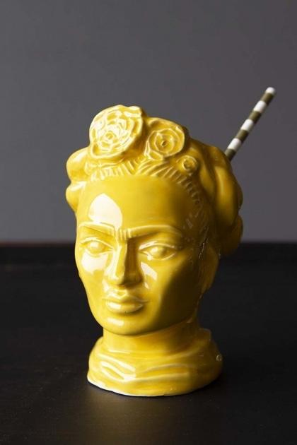 Frida Khalo Inspired Display Vase