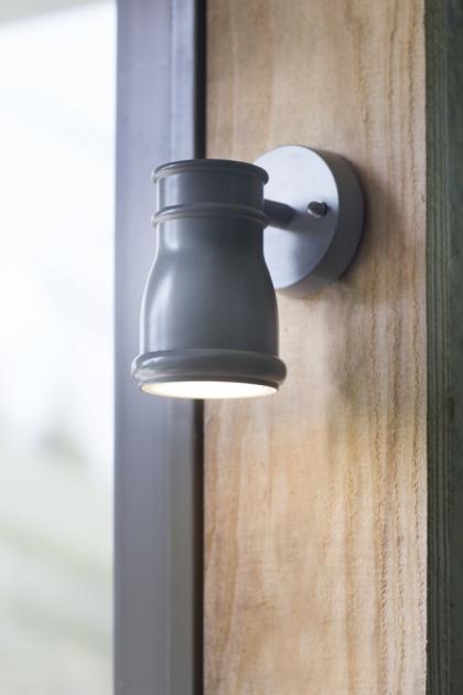 Charcoal Gate Light - Indoor/Outdoor