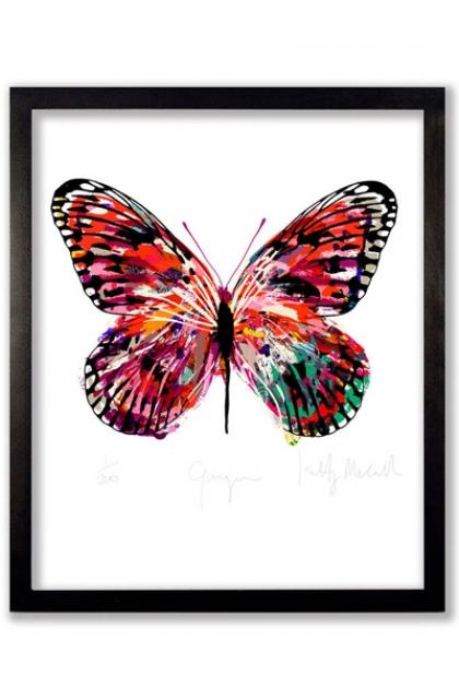 Unframed Limited Edition Gauguin Butterfly Art Print
