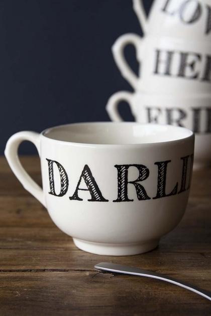 Giant Traditional Style Mug - Darling