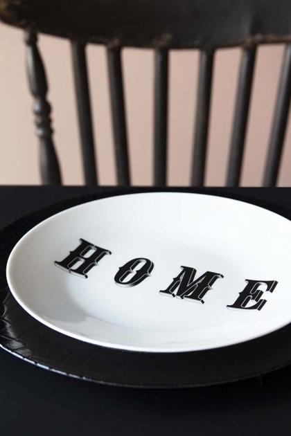 HOME Fine China Plate