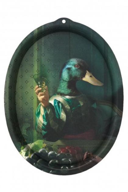 Ibride Animal Tray - Galerie De Portraits Oval Tray - Achille