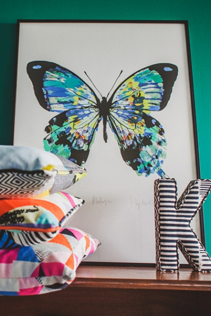 Unframed Limited Edition Matisse Butterfly Print