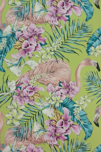 Matthew Williamson Flamingo Club Wallpaper