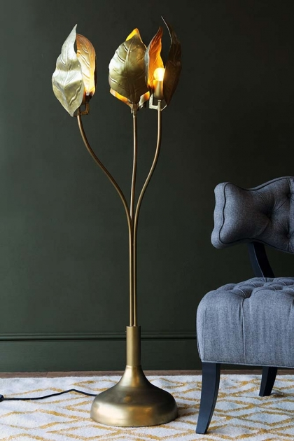 Triple Leaf Midas Forna Floor Lamp