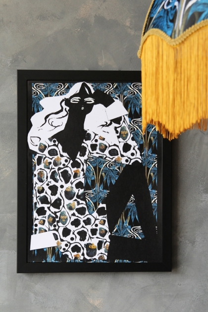 Unframed Anna Hayman with Beth Fraser Art Prints - Sadie