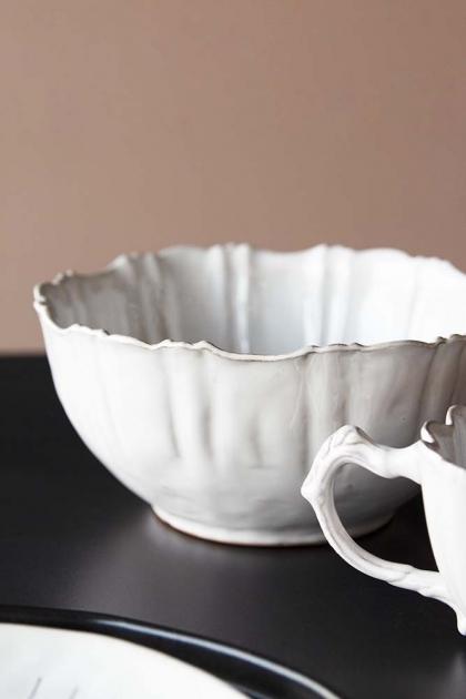 Antique White Chateau Bowl