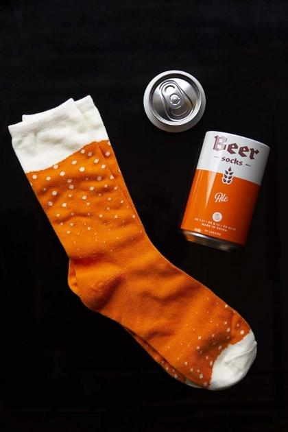 Beer Socks - Orange Ale