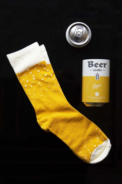 Beer Socks - Yellow Lager