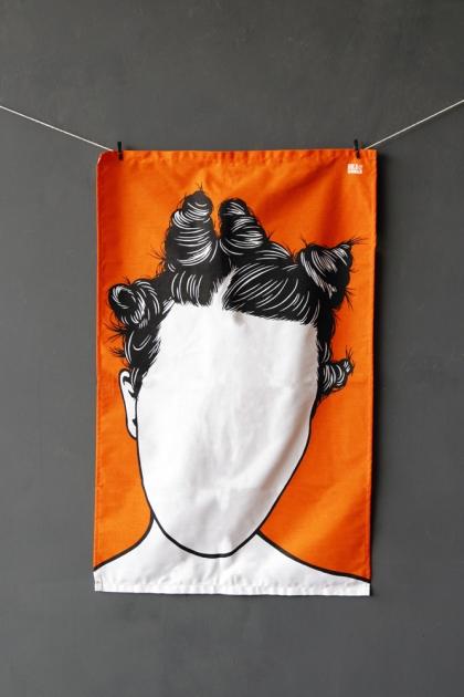 Rock Icon Tea Towel - Bjork