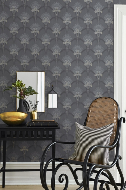 BorasTapeter Jubileum Wallpaper - Lilja - 3 Colours Available