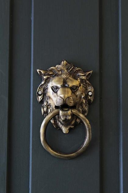 Brass Lion Door Knocker