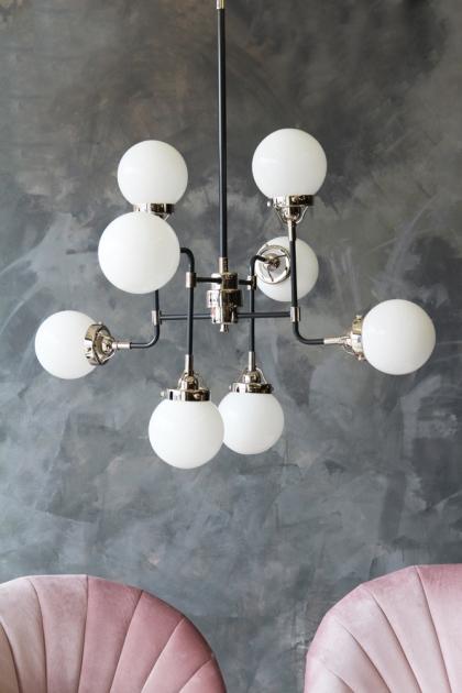 Eight Orb Ceiling Pendant Light