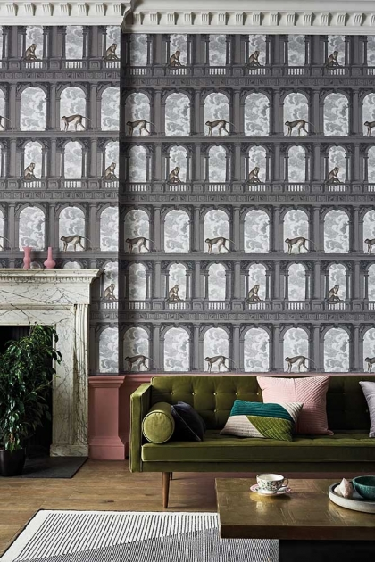 Lifestyle image of Procuratie con vista Wallpaper by Cole & Son