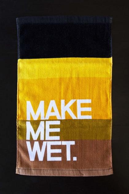 Make Me Wet Bar Towel