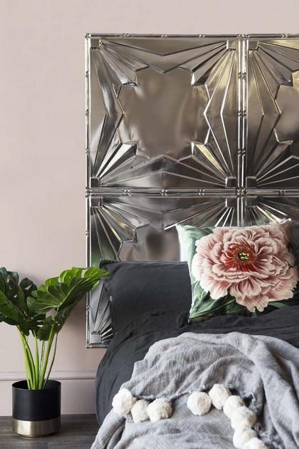 Art Deco Design Tin Tile