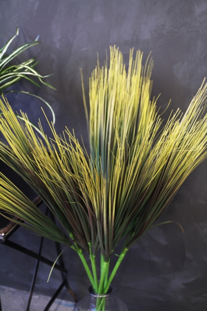 Faux Grass Foliage Plant