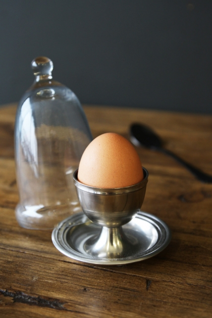 Glass Dome Egg Cup