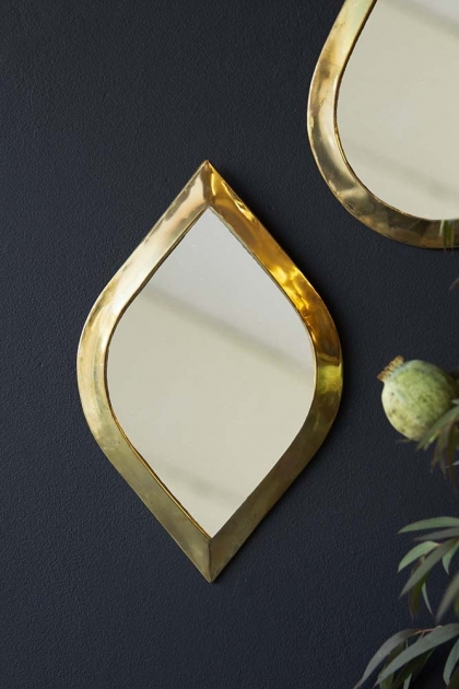 Gold Rhombus Eye Mirror