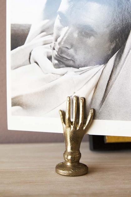 Gold Hand Cardholder