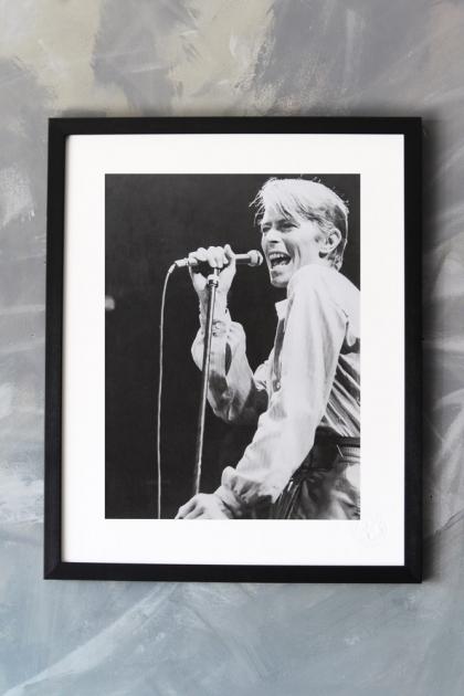 Unframed Paea Art Print - David Bowie