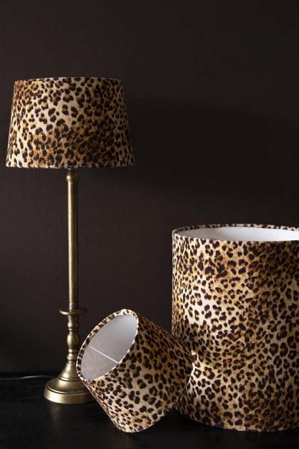 Rockett St George Leopard Love Lamp Shade