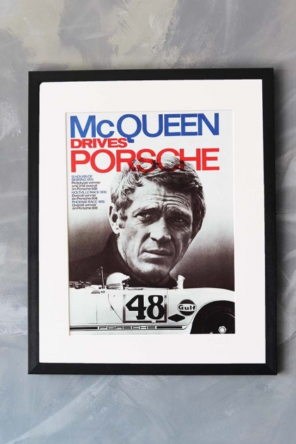 Unframed La Galerie Photo - Steve McQueen Porsche