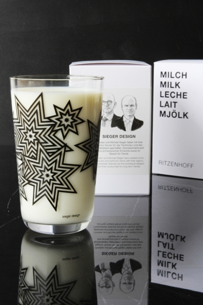 Ritzenhoff Milk Glass - Sieger Design