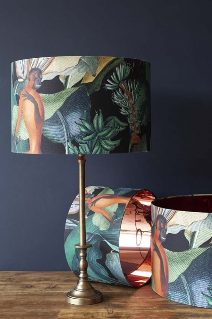 Mind The Gap Bermuda Lamp Shade