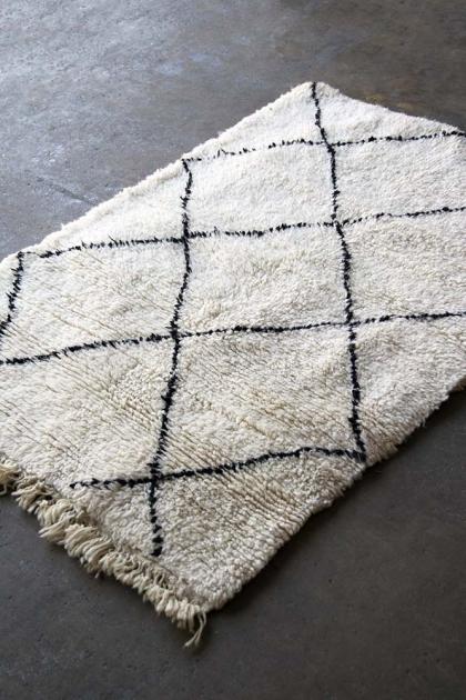 Original Moroccan Berber Small Rug - Meknes