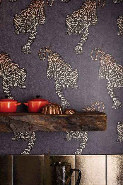 Matthew Williamson Tyger Tyger Wallpaper - 3 Colours Available