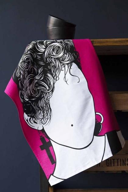 Rock Icon Tea Towel - Madonna
