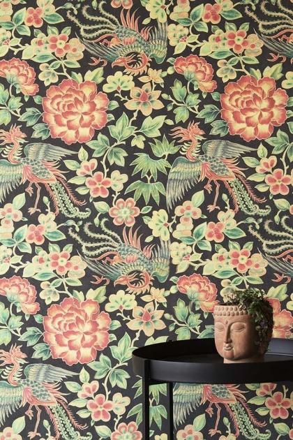Rockett St George Oriental Garden Wallpaper