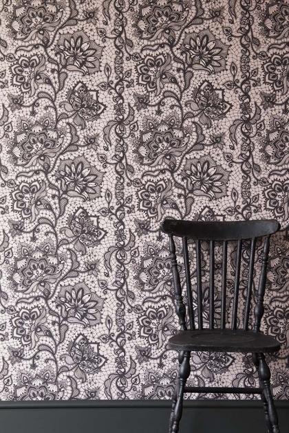 Rockett St George Boudoir Lace Wallpaper