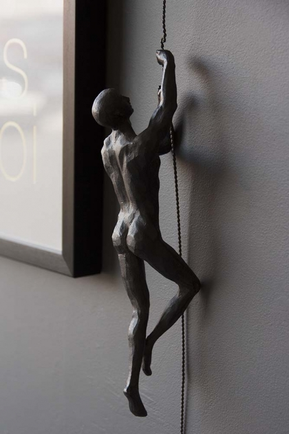 Rope Climbing Man