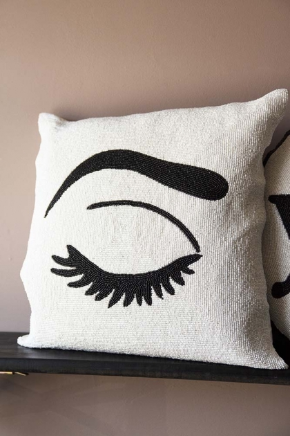 Sexy Blink Glamorous Beaded Cushion