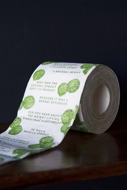 Brussels Sprouts Toilet Paper - Single Roll