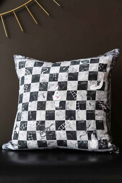 Limited Edition Snakes & Ladders Cushion