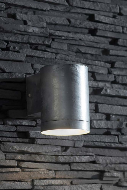 St Ives Hot Dipped Down Wall Light - Large