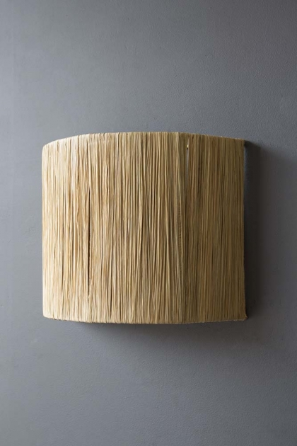 Straw Wall Lamp Shade