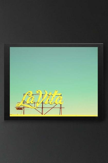 Unframed La Vita Art Print By Robert Cadloff