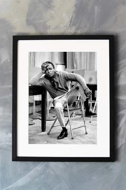 Unframed Miles Davis Photographic Art Print
